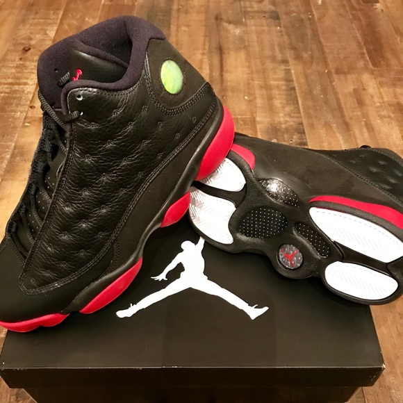 size 40 468f1 e700d Air Jordan 13 Retro Dirty Bred Men s Sneakers 9